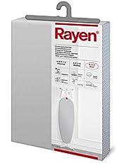 Rayen R6152.11 Ironing Board Cover with Aluminium Clip, 126cm x 47cm,Grey