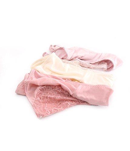 Sisann - Culottes - para mujer Dunkelrosa+Dunkelbeige+Rosa