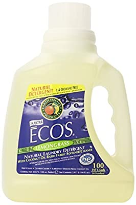 Earth Friendly Products Ecos Liquid Laundry Detergent, Lemongrass, 100 Ounce by Earth Friendly Products