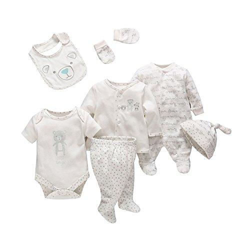 Baby Boys Essential Layette Gift Set 7 Piece 3-6 Months