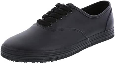 safeTstep Slip Resistant Women's Kandice Leather Oxford