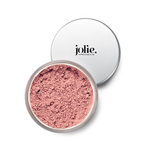 (Jolie Loose Mineral Blush - 100% Pure, Unscented, Hypoallergenic, Oil-Free, Talc & Paraben-Free (Morning Glory))