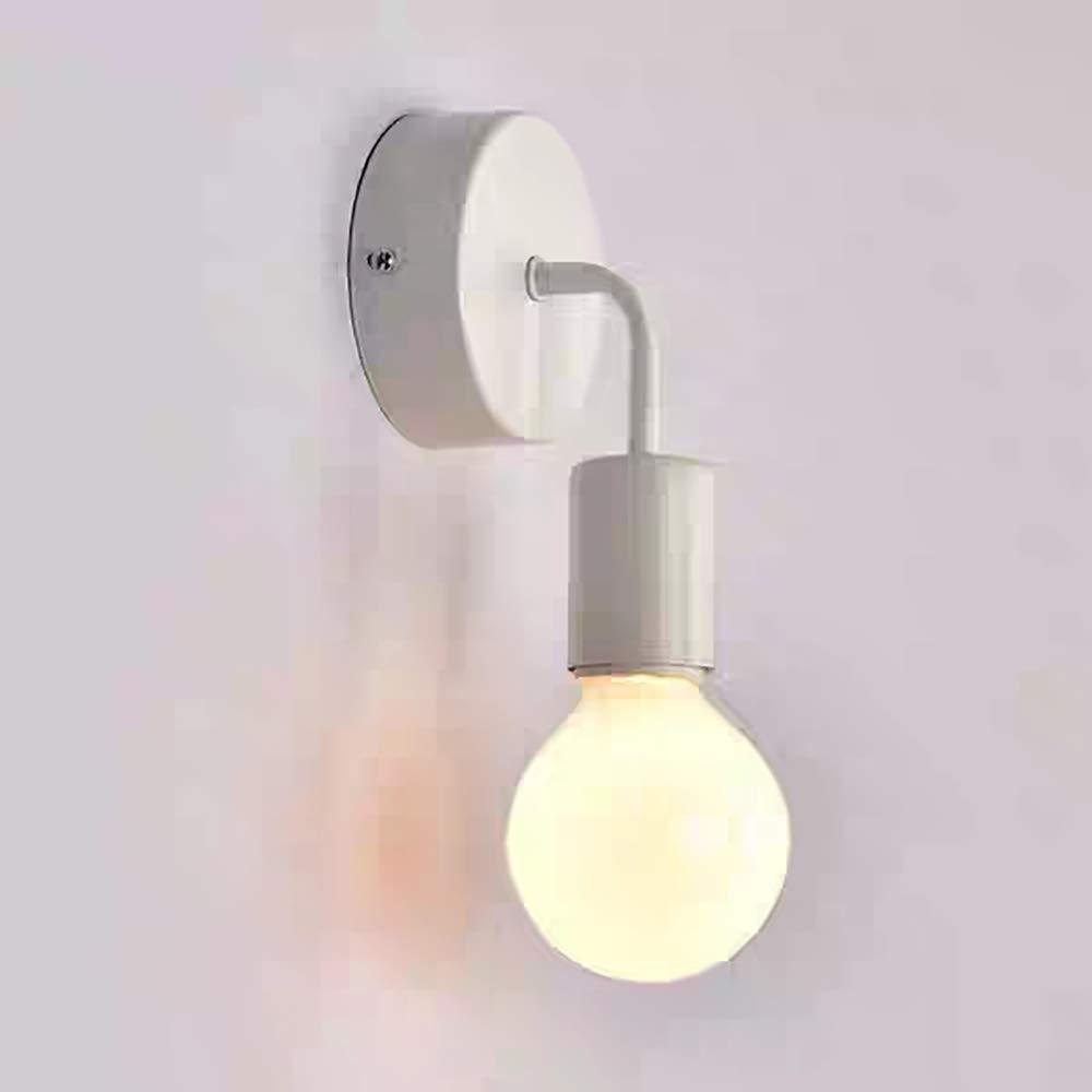 Retro Lámpara de pared, 1 x E27 Vintage Aplique de metal ...