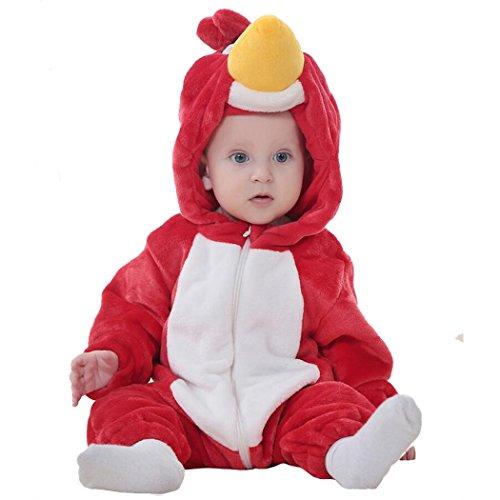 Unisex-baby Romper Animal Onesie Costume Cartoon Outfit