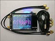 """HF VHF UHF UV VNA Vector Network Analyzer Antenna Analyzer + 2.8""""LCD + Battery"""