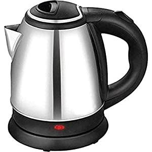KBZONE Electric Kettle 2 LTR Automatic Multipurpose Large Size Tea Coffee Maker Water Boiler with Handle (Silver.)