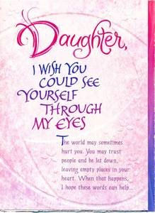 Amazon Daughter Birthday Greeting Card