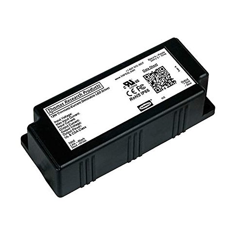Thomas Research Products LED SUPPLY CC AC/DC, 12W, 500MA LED Drivers by Thomas Research Products