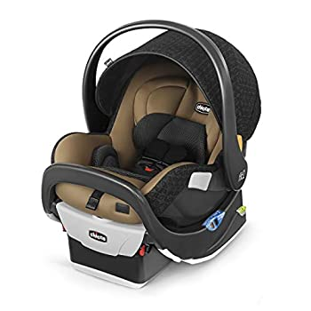 Image of Chicco Fit2 Infant & Toddler Car Seat - Cienna, Black/Tan Baby