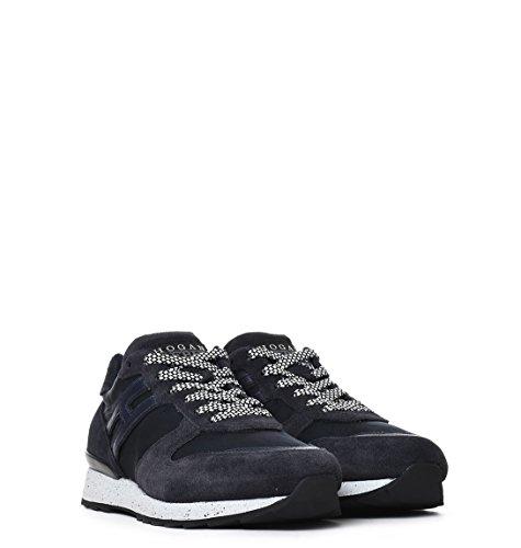 Hogan Rebel Sneakers Uomo HXM2610R670G15U810 Camoscio Blu