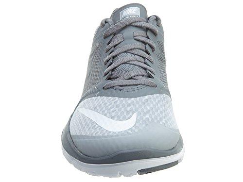 Zapatillas De Running Nike Hombres Fs Lite 2 Gris, Blanco