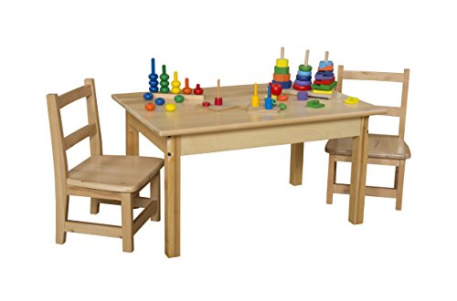 Wood Designs WD82318 Child's Table, 24'' x 36'' Rectangle with 18'' Legs by Wood Designs (Image #2)