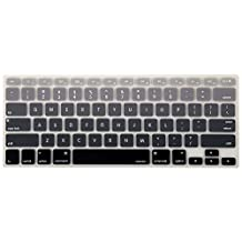 Mosiso Keyboard Cover for Macbook Pro 13 Inch, 15 Inch (with or without Retina Display, 2015 or Older Version) Macbook Air 13 Inch, mix Black Ombre
