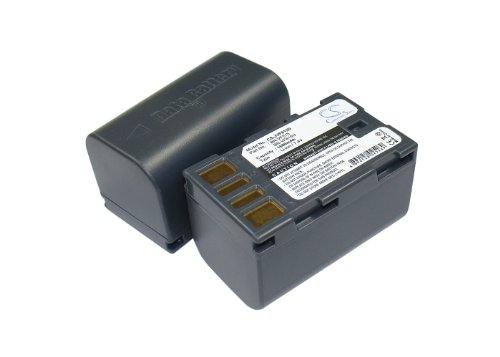 Battery2go - 1 year warranty - 7.4V Battery For JVC GZ-MG630A, GR-D875US, GR-D750AC, GZ-MS90, GR-D790EX, GZ-MG177US