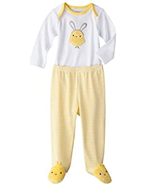 Precious First Made By Carter's Baby-girls Infant 2pc Chicky Set