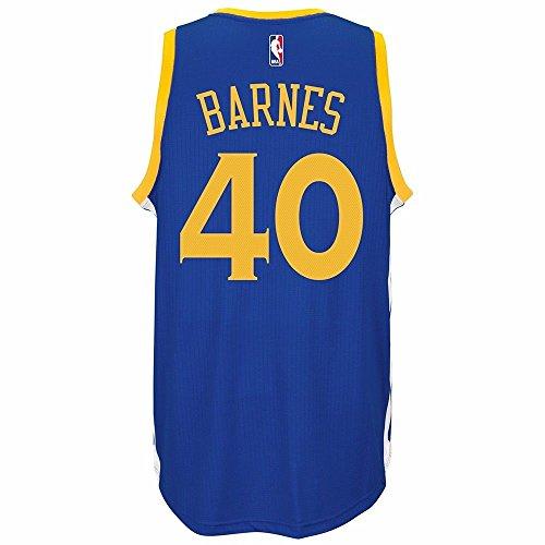 adidas Harrison Barnes Golden State Warriors Road Swingman Jersey (Blue) 2XL