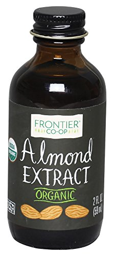 - Frontier Almond Extract Certified Organic, 2-Ounce Bottle