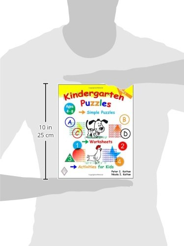 Workbook elementary art worksheets : Kindergarten Puzzles - Level 1: Simple Puzzles, Worksheets, And ...