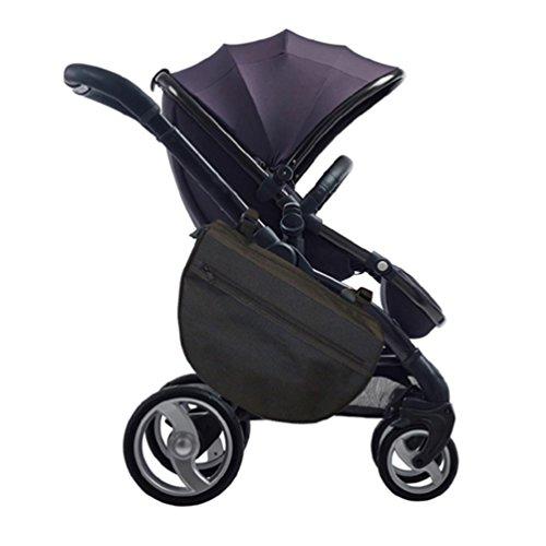 Grab and go Stroller Saddlebag Push cart storage bag. Baby trolley Diaper bag