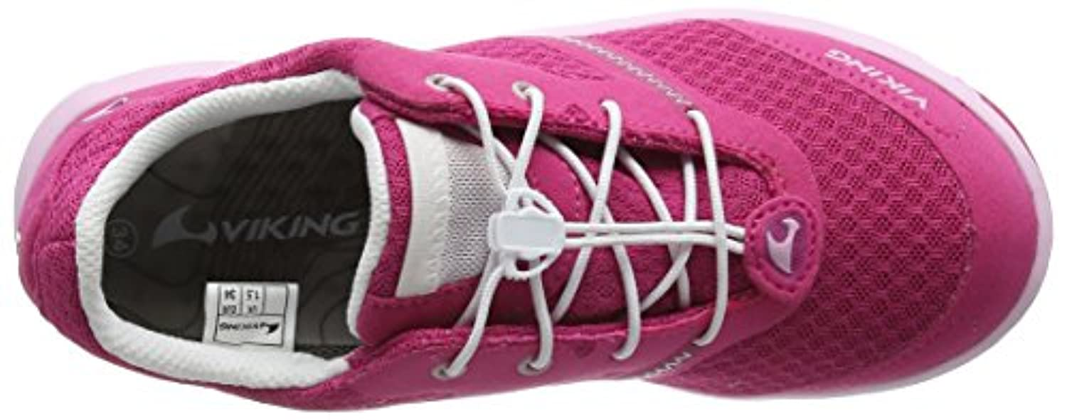 Viking Unisex Kids' Maverick GTX Low-Top Sneakers Pink Size: 1 UK