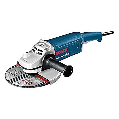 Bosch Professional GWS 20-230 JH - Amoladora en caja, diámetro 230 mm, 2000 W, Negro/Azul/Plata