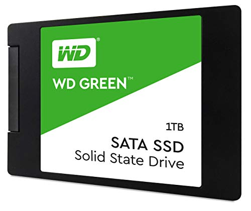 WD Green 1TB Internal PC SSD - SATA III 6 Gb/s, 2.5