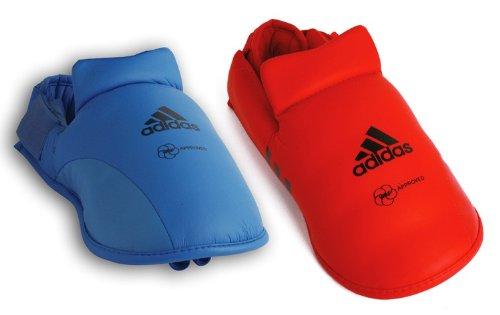 adidas WKF Foot Guard Red (Large)