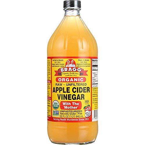 Bragg Organic Unfiltered Raw Apple Cider Vinegar - 32 Fl. Oz / 946ml