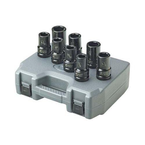 Ingersoll Rand SK8H8L 1-Inch 8 Piece Deep Impact Socket Set