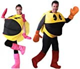 Pac-Man & Ms. Pac-Man Couples Costume Adult Set