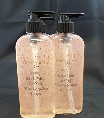 - Midnight Waters Exfoliant Body Wash l Free Gift l Jojoba Beads l Seaweed l Rejuvenating