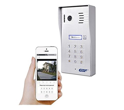 GBF WiFi IP Video Doorbell/Door Phone V.2 with Keypad