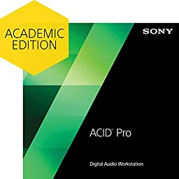 Sony ACID Pro 7 - Academic Version [Download]
