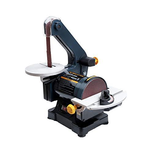 POWERTEC BD1502 Belt Disc Sander for Woodworking | 1 in. x 30 in. Belt Sander with 5 in. Sanding Disc (Belt Sander 1 X 30)
