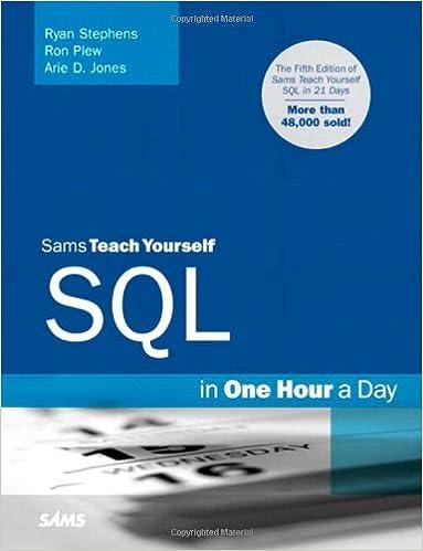 Sams Teach Yourself SQL in One Hour a Day (Sams Teach