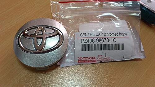 Genuine Toyota Auris Coprimozzo per cerchi in lega, PZ406 –  98670 –  1 C PZ406-98670-1C
