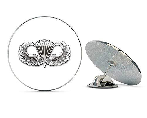 "Veteran Pins US Army Jump Wings Metal 0.75"" Lapel Hat Pin Tie Tack Pinback"