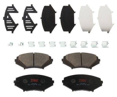 TRW TPC1009 Premium Ceramic Front Disc Brake Pad Set ()