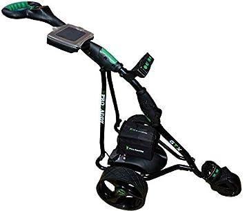 Carro eléctrico de Golf Pro Kaddy Modelo D3GTX Negro: Amazon.es: Deportes y aire libre