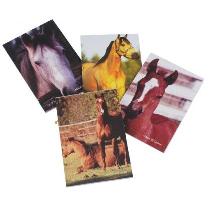- Lot Of 12 Assorted Horse Theme Mini Memo Notepads