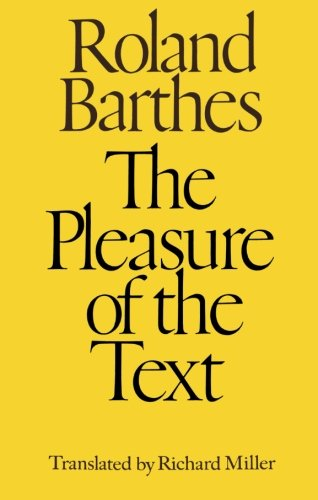 Image of The Pleasure of the Text
