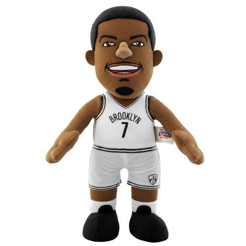 NBA New Jersey Nets Joe Johnson Player Plush Doll, 6.5-Inch x 3.5-Inch x 10-Inch, Blue