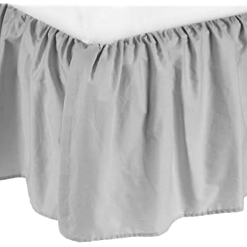 Amazon Com Tadpoles Triple Layer Tulle Bed Skirt Pink