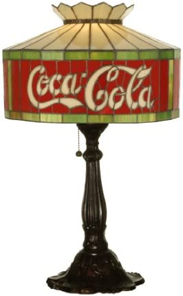 Meyda Home Bedroom Living Room Decorative Accent Night Lighting 24.5 H Coca-Cola Table Lamp