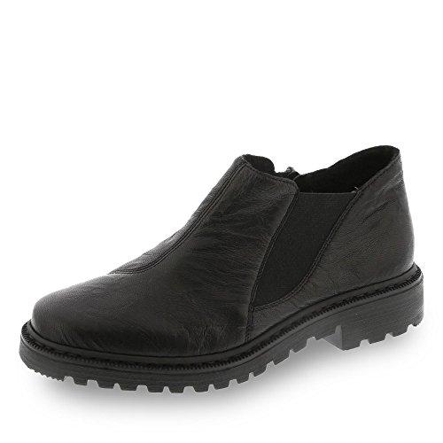 Rieker Mujeres botines negro 56351-01