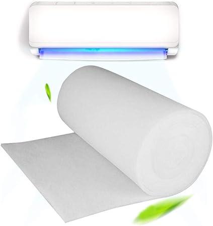 Rlorie Filtro De Aire Acondicionado - 100 Cm X 100 Cm X 3 Mm Filtro De Aire con Carbón Activado Purificador De Agua Prefiltro Polvo, 3 Mm De Espesor Noble: Amazon.es: Hogar