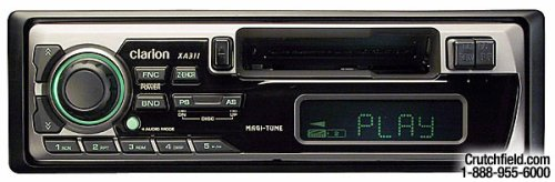 Clarion XA311 - Radio / cassette player - Full-DIN - in-dash - 40 Watts x 4
