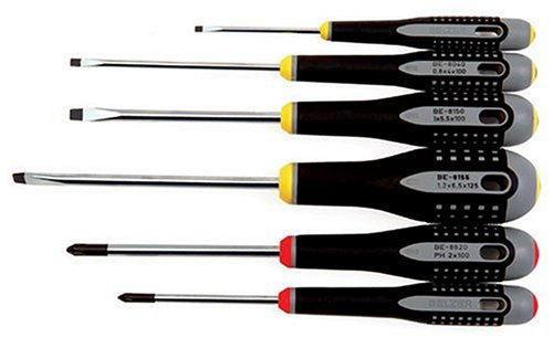 Bahco BE-9881 Premium Ergonomic Screwdriver Set