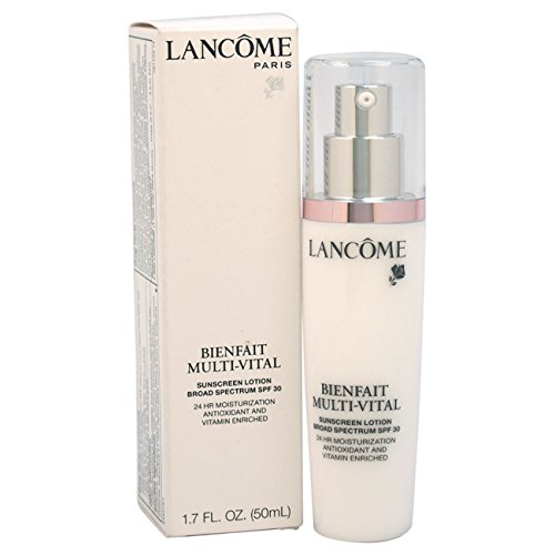 Lancome Bienfait Multi-Vital Sunscreen Lotion SPF 30 Normal To Dry Skin Moisturizer, 1.7 Ounce
