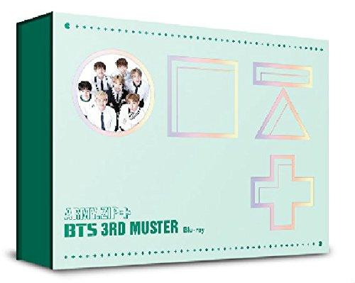 방탄 소년단 BTS 2016 BTS 3rd MUSTER [ARMY.ZIP+] [2DISC] Blu-ray (한국 음반)